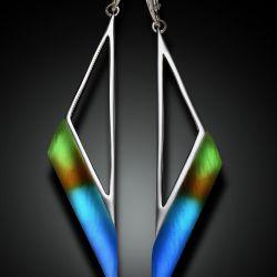 Cast Glass Earrings