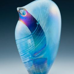 Aquamarine Dancer Vase