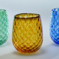 Amber, Green, Blue