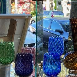 Vases, bowls and tumblers