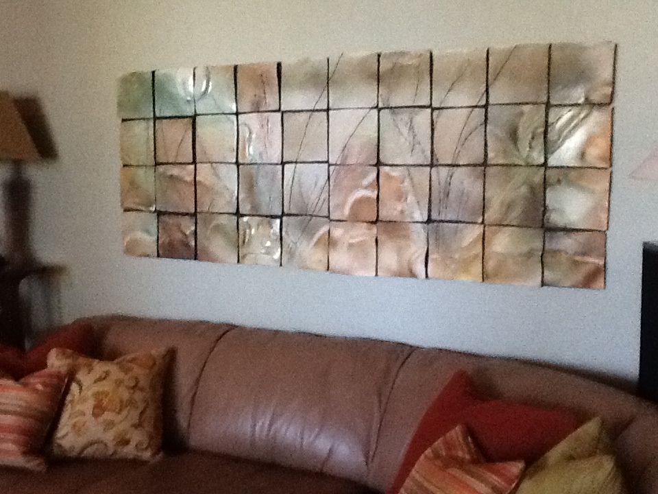 Soft Texas Colors!  Ceramic Wall Art Tile