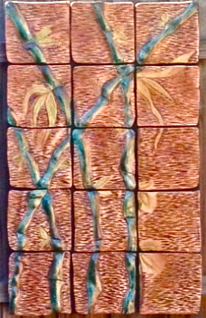 By The Water's Edge:  Ceramic Tile Wall Art