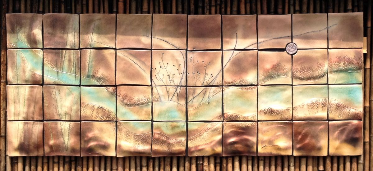 Sussurations....  Ceramic Tile Art Mural