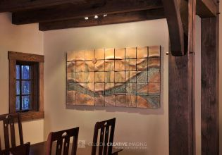 River View Ceramic Wall Art