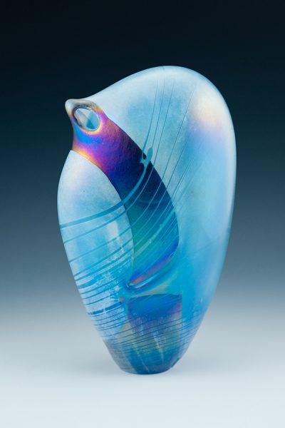 Aquamarine Dancer Vase