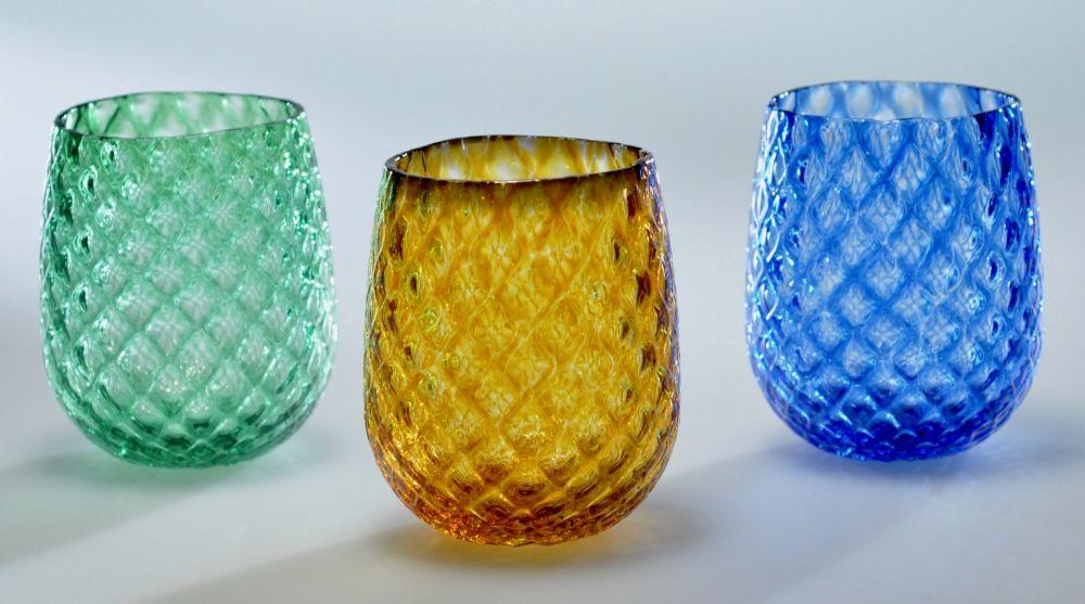 Green, Amber, Blue