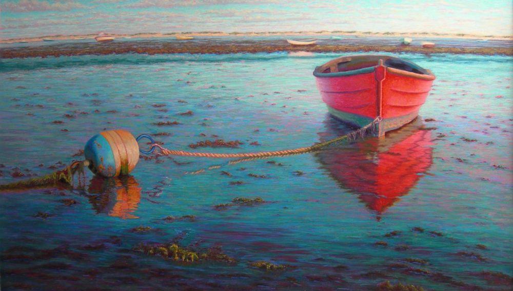 Red Mahogany Boat