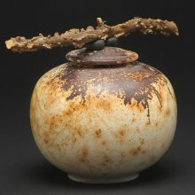 Saggar Fired Wild Nature Jar