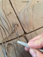 carving in texture
